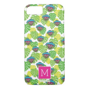 Oscar the Grouch | Tropical Pattern iPhone 8/7 Case