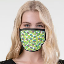 Oscar the Grouch | Tropical Pattern Face Mask