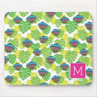 Oscar the Grouch | Tropical Pattern Mouse Pad
