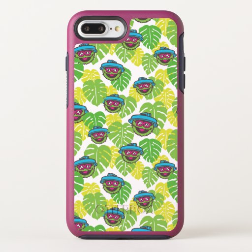 Oscar the Grouch | Tropical Pattern OtterBox Symmetry iPhone 8 Plus/7 Plus Case
