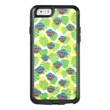 Oscar the Grouch | Tropical Pattern OtterBox iPhone 6/6s Case