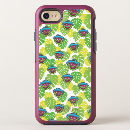 Oscar the Grouch | Tropical Pattern OtterBox Symmetry iPhone 8/7 Case