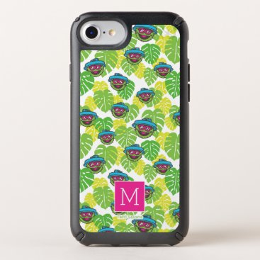 Oscar the Grouch | Tropical Pattern Speck iPhone Case