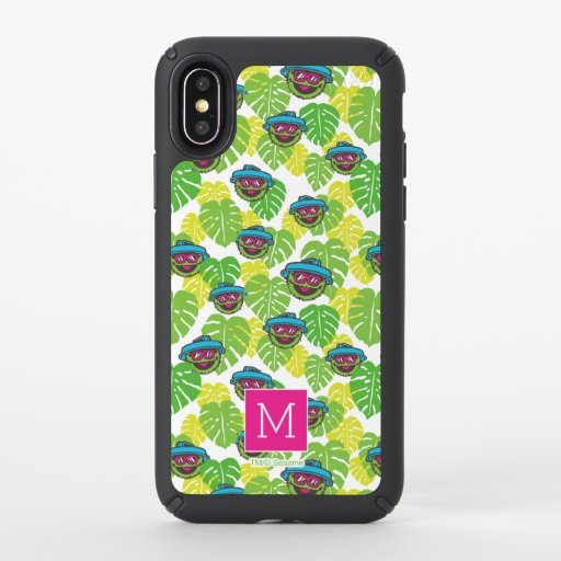 Oscar the Grouch | Tropical Pattern Speck iPhone X Case