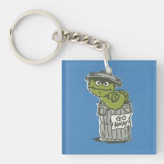 Oscar the Grouch Vintage 2 Keychain