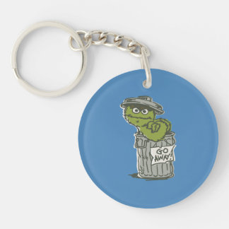 Oscar the Grouch Vintage 2 Keychain