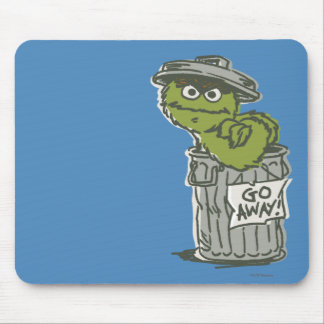 Oscar the Grouch Vintage 2 Mouse Pad