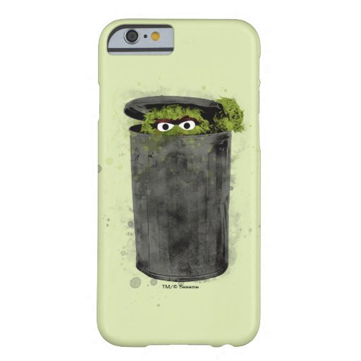 Oscar the Grouch | Watercolor Trend Barely There iPhone 6 Case