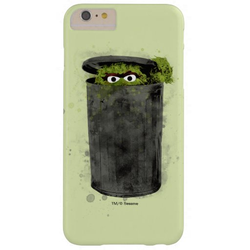 Oscar the Grouch | Watercolor Trend Barely There iPhone 6 Plus Case