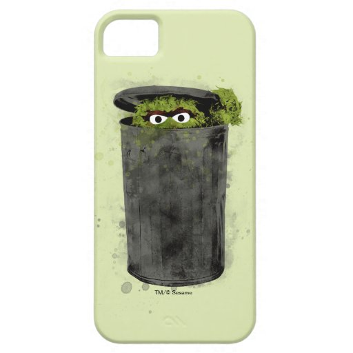 Oscar the Grouch | Watercolor Trend iPhone SE/5/5s Case