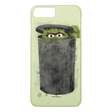 Oscar the Grouch | Watercolor Trend iPhone 8 Plus/7 Plus Case