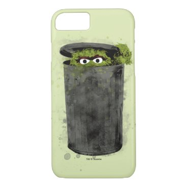 Oscar the Grouch | Watercolor Trend iPhone 8/7 Case