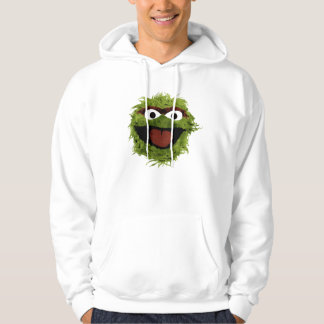 Oscar the Grouch   Watercolor Trend Hoodie