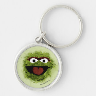 Oscar the Grouch | Watercolor Trend Keychain