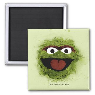 Oscar the Grouch | Watercolor Trend Magnet
