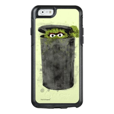 Oscar the Grouch | Watercolor Trend OtterBox iPhone 6/6s Case