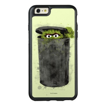 Oscar the Grouch | Watercolor Trend OtterBox iPhone 6/6s Plus Case