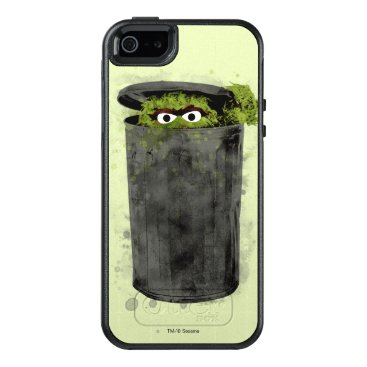 Oscar the Grouch | Watercolor Trend OtterBox iPhone 5/5s/SE Case