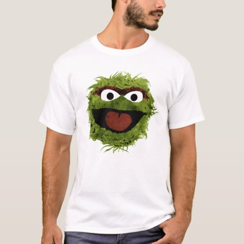 Oscar the Grouch  Watercolor Trend T_Shirt