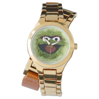 Oscar the Grouch | Watercolor Trend Wristwatch
