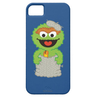 Oscar the Grouch Wool Style iPhone 5 Cases
