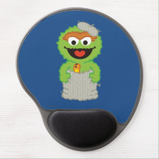 Oscar the Grouch Wool Style Gel Mouse Pad