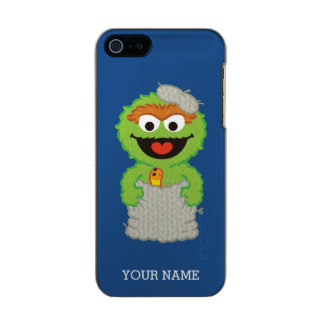 Oscar the Grouch Wool Style Incipio Feather® Shine iPhone 5 Case