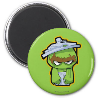 Oscar the Grouch Zombie 2 Inch Round Magnet
