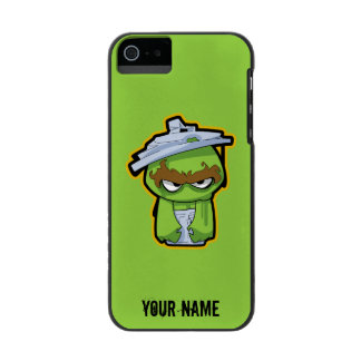 Oscar the Grouch Zombie | Add Your Name iPhone SE/5/5s Wallet Case