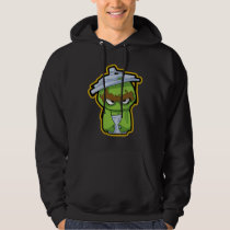 Oscar the Grouch Zombie Hoodie
