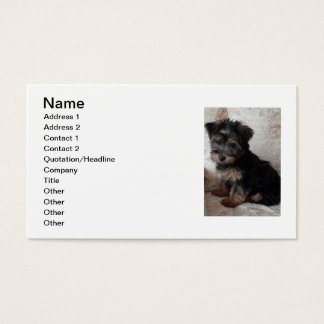 Oscar the Yorkshire Terrier Business Card