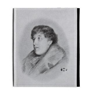 Oscar Wilde (1854-1900) a Bijou Portrait, from 'So iPad Cases