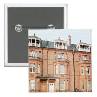Oscar Wilde's house in Tite Street, Chelsea Pinback Button