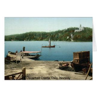 Oscarhall Castle Oslo, Norway Card