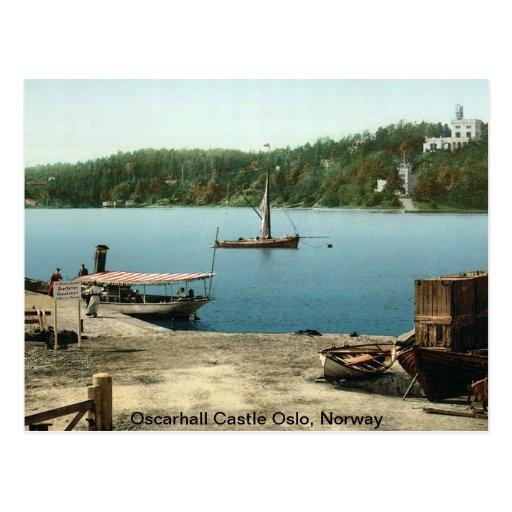 Oscarhall Castle Oslo, Norway Postcards