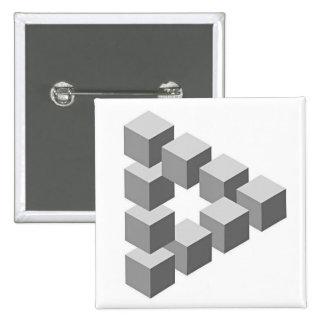 OscarReutersvard 2 Inch Square Button