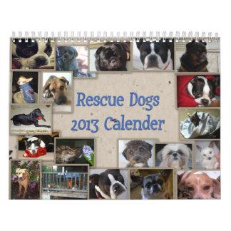 Oscar's Rescue Dog Calender Wall Calendars