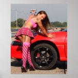 osceola dragway model poster