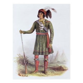 """Osceola o """"sol naciente"""", un líder del Seminole Postales"""