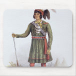 """Osceola o """"sol naciente"""", un líder del Seminole Alfombrillas De Ratones"""