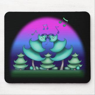 Oscilación al cojín de ratón de la música mousepads