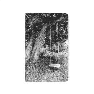 Oscilación de antaño de la cuerda del diario del b cuaderno