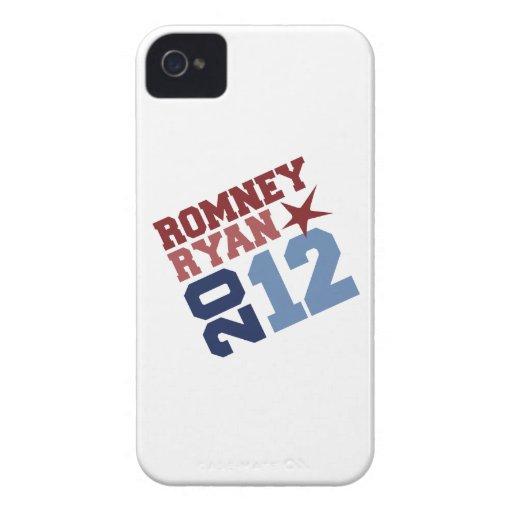 OSCILACIÓN DE ROMNEY RYAN 2012 Case-Mate iPhone 4 PROTECTORES