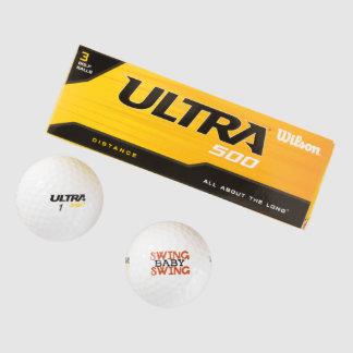 Oscilación del bebé del oscilación pack de pelotas de golf