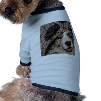 Oscilación del gorra camisas de mascota