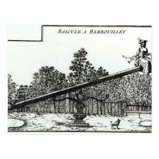 Oscilación del jardín en Rambouillet, de 'DES N de Tarjetas Postales