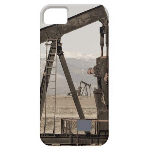 Oscilación del pozo de petróleo para los pájaros iPhone 5 coberturas