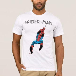 Oscilación retro del Web de Spider-Man Playera