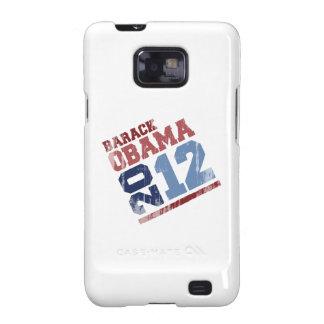OSCILACIÓN Vintage.png de BARACK OBAMA 2012 Samsung Galaxy S2 Carcasas