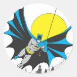 Oscilaciones de Batman Etiqueta Redonda